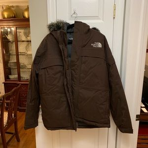 The North Face men's parka